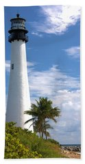 Cape Florida Lighthouse Hand Towel