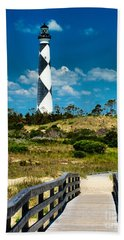 Cape Lookout Light Hand Towel