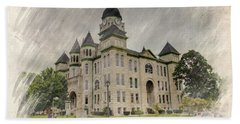 Carthage Courthouse Hand Towel