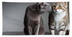 Cat Kiss Hand Towel