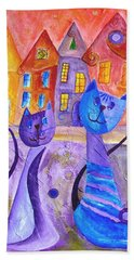 Cats Bath Towel