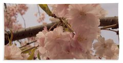 Bath Towel featuring the photograph Cherry Blossom 2 by Andrea Anderegg