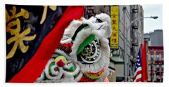 Chinese New Years Nyc  4704 Hand Towel by Mark Gilman