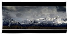 Chugach Mountains Bath Towel