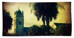 Church At Fort Moultrie Near Charleston Sc Hand Towel