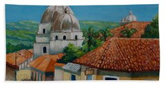 Church Of Pespire In Honduras Bath Towel