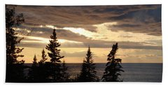 Bath Towel featuring the photograph Clearing Sky by Bonfire Photography