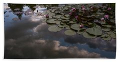 Clouded Pond Hand Towel