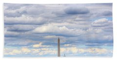 Clouds Over Washington Dc Hand Towel