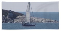 Coastal Newport Ri  Bath Towel