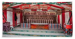 Bath Towel featuring the photograph Coconut Shy by Adrian Evans
