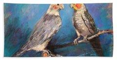 Coctaiel Parrots Hand Towel