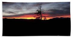 Colorado Sunset Hand Towel by Angelique Olin
