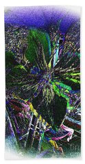 Hand Towel featuring the photograph Colorful by Donna Brown