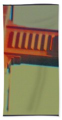 Hand Towel featuring the digital art Coming In by Richard Laeton