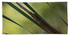 Common Cattail Bath Towel