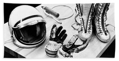 Components Of The Mercury Spacesuit Hand Towel