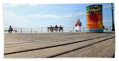 Coney Island Boardwalk Bath Towel