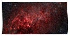 Constellation Cygnus With Multiple Hand Towel