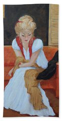 Contemplation Bath Towel