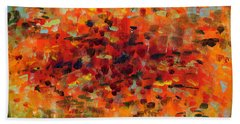 Contemporary Art Nineteen Bath Towel