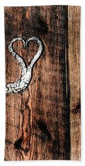 Crafted Heart Hand Towel