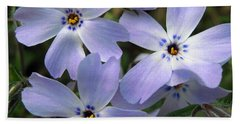 Bath Towel featuring the photograph Creeping Phlox by J McCombie