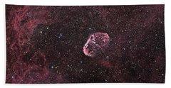 Crescent Nebula Hand Towel
