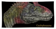 Cryclosaurus Dinosaur Hand Towel