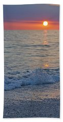 Crystal Blue Waters At Sunset In Treasure Island Florida 2 Hand Towel
