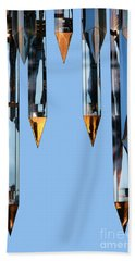 Crystal Cathedral Tower Points Hand Towel by Mariola Bitner