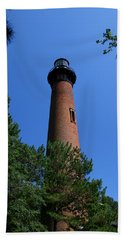 Currituck Lighthouse Bath Towel by Karen Harrison