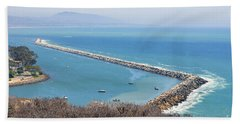Bath Towel featuring the photograph Dana Point California 9-1-12 by Clayton Bruster