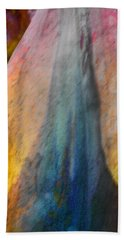 Hand Towel featuring the digital art Dance Through The Light by Richard Laeton