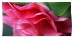 Dancing Petals Of The Camellia Hand Towel