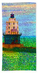 Hand Towel featuring the photograph Delight House by Clara Sue Beym