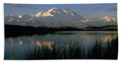Hand Towel featuring the photograph Denali by Doug Herr