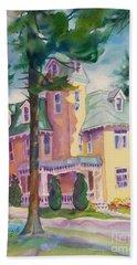 Dewey-radke Glowing Hand Towel by Kathy Braud