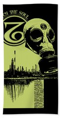 Digging Up The Past Hand Towel by Tony Koehl