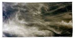 Bath Towel featuring the photograph Dirty Clouds by Clayton Bruster