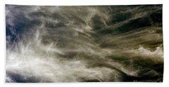 Dirty Clouds Bath Towel by Clayton Bruster