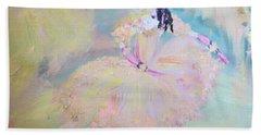 Dorothy Dancer Hand Towel by Judith Desrosiers
