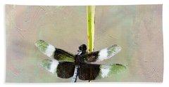 Dragonfly Devotion Bath Towel