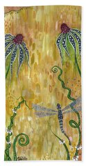 Dragonfly Safari Bath Towel by Tanielle Childers