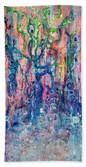 Dream Of Our Souls Awake Bath Towel by Regina Valluzzi