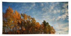 Dressed In Autumn Colors Hand Towel