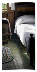 Bath Towel featuring the photograph Dudley Farmhouse Interior No. 1 by Lynn Palmer