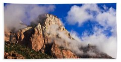 Early Morning Zion National Park Hand Towel