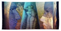 Embrace Tower Bath Towel by Rosa Cobos
