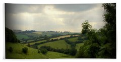 English Countryside Bath Towel